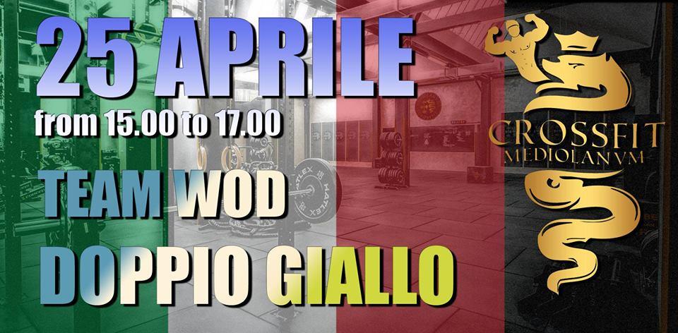 CrossFit Milano WOD Mediolanvm