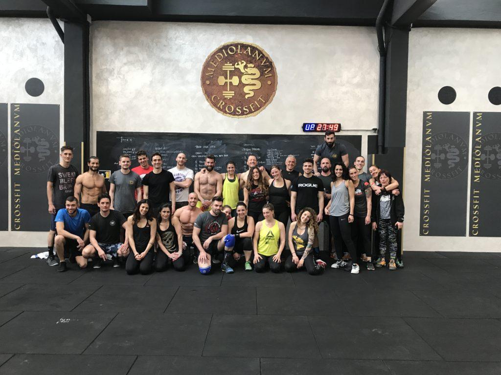 Crossfit 1 maggio 2017 - Mediolanvm Milano Certosa