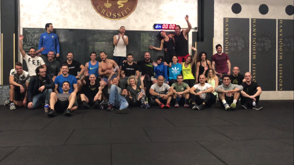 After Christmas WOD - Crossfit Mediolanvm Milano Certosa